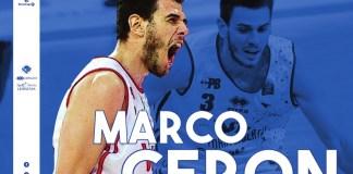 Marco Ceron nuovo giocatore della Germani - foto da ufficio stampa