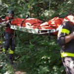 Trovato morto nei boschi, foto d'archivio