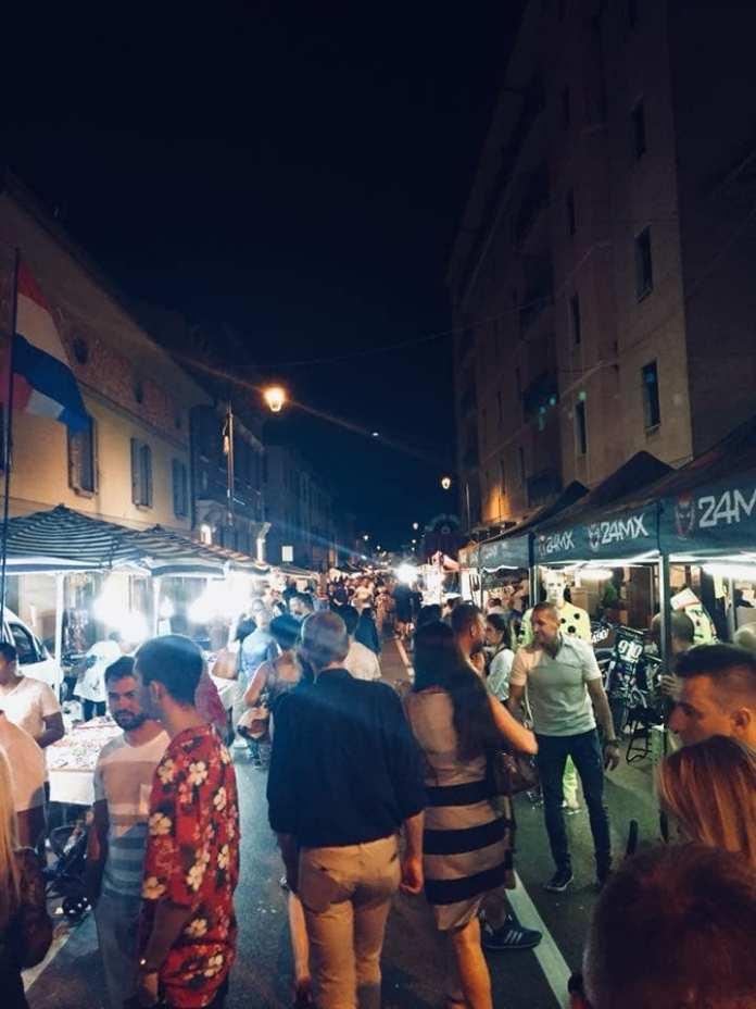 Notte bianca di Rovato, foto da pagina Faceboo Comune di Rovato