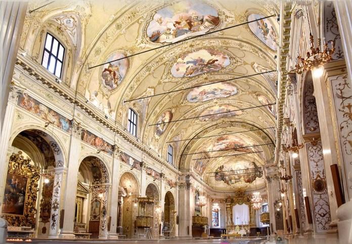 La Basilica Minore di Bagnolo Mella dopo il restauro, foto da Comune