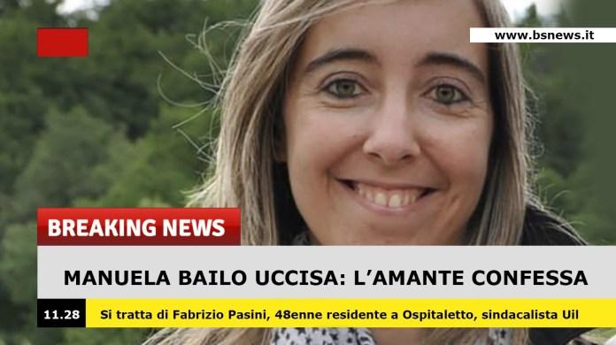 Manuela Bailo, l'amante confessa