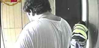 I ladri ripresi dalle telecamere della Polizia di Brescia