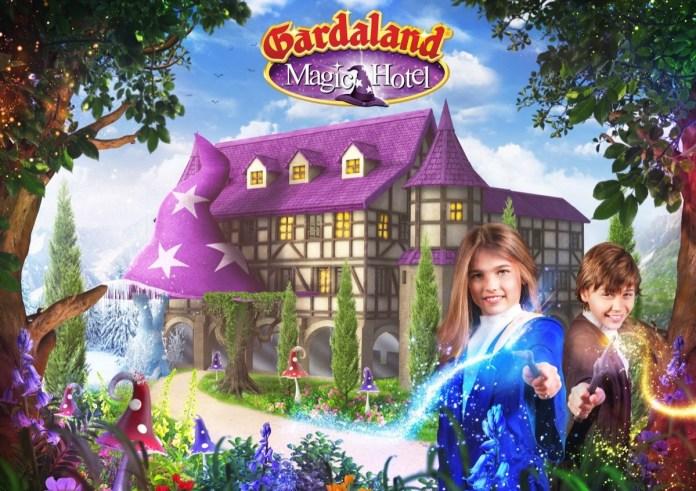 Il rendering del Gardaland Magic Hotel