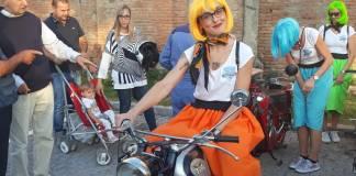 Mara Gilberti, una delle partecipanti della Brescia-Napoli, foto BsNews