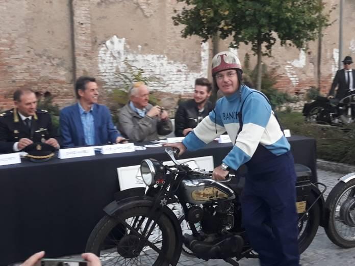 Mario Gaburri, partecipante e promotore della Brescia-Napoli, foto BsNews
