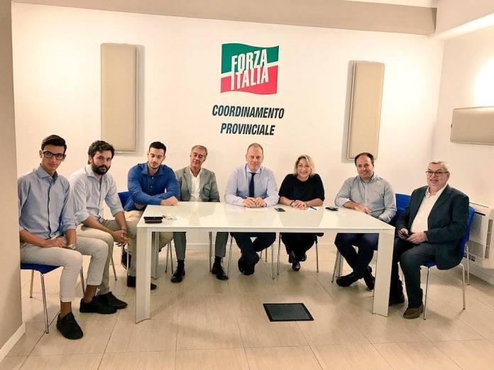 Il nuovo organigramma di Forza Italia Brescia