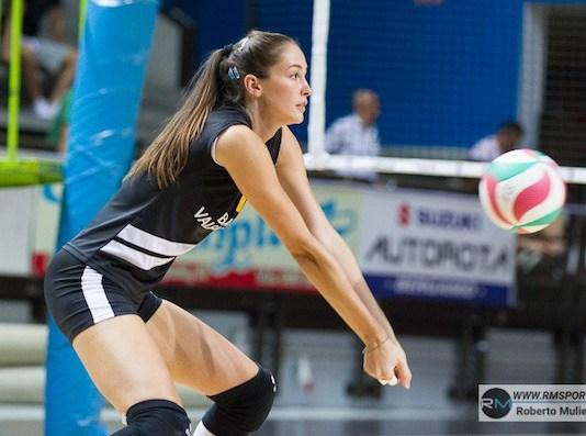 Giulia Bartesaghi, attaccante classe '98 al primo anno in maglia Millenium (foto RmSport)