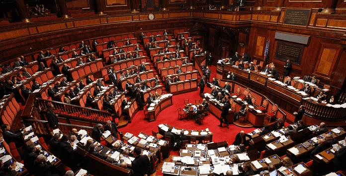 Il Senato della Repubblica, foto d'archivio