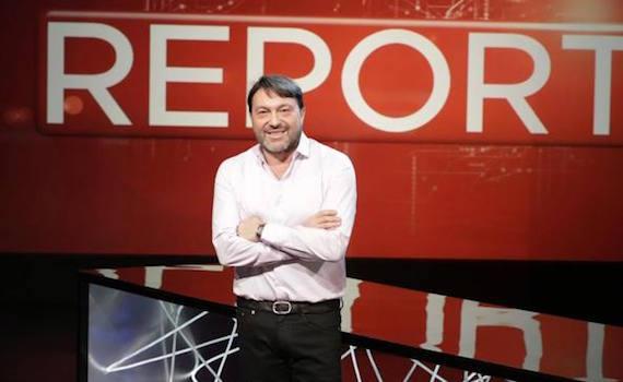 Il conduttore di Report Sigfrido Ranucci