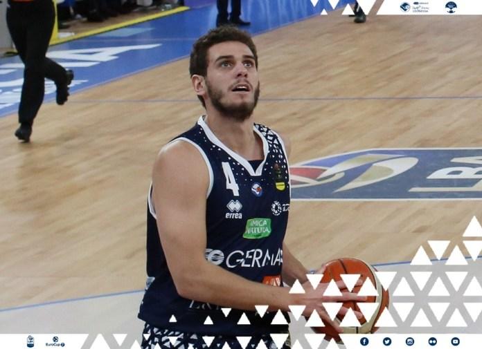 Marcco Ceron, giocatore del Basket Brescia