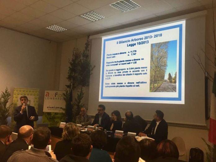 Il Comune al Forum sulle Foreste Urbane - foto da ufficio stampa
