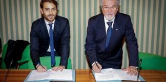 Vittorio Ferraresi e Giacinto Picozza