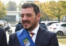 Il nuovo presidente della Provincia di Brescia Samuele Alghisi