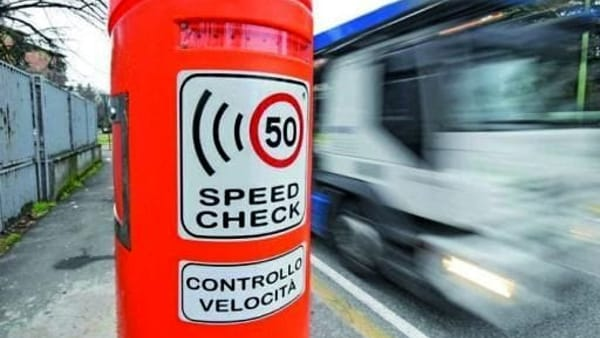 Speed check, foto generica