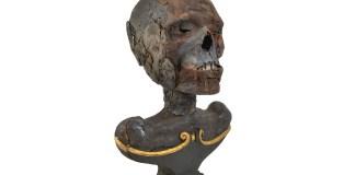 Testa di mummia. Crediti: Studio Alquati, Milano