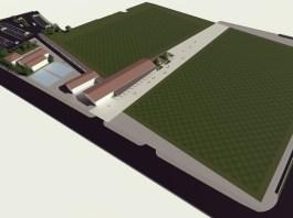 Il rendering del nuovo campo da Rugby del Botticino