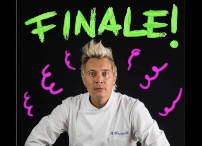 Lo chef bresciano Andrea Mainardi