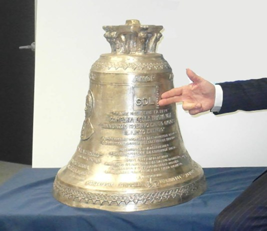 La campana donata alla chiesa di Castenedolo