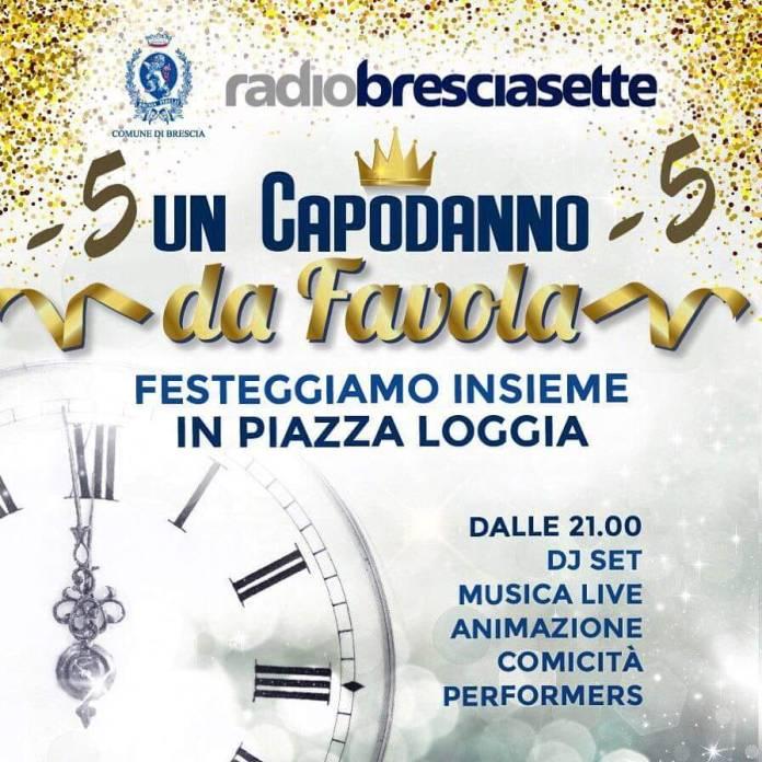 Capodanno in piazza Loggia a Brescia