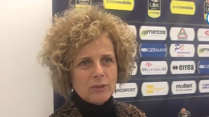 Graziella Bragaglio, presidente Basket Brescia Leonessa