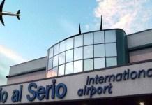 L'aeroporto di Orio all Serio, nella vicina provincia di BergamoL'aeroporto di Orio all Serio, nella vicina provincia di Bergamo