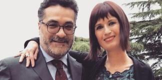 I giornalisti bresciani Giuseppe Spatola e Carla Bruni