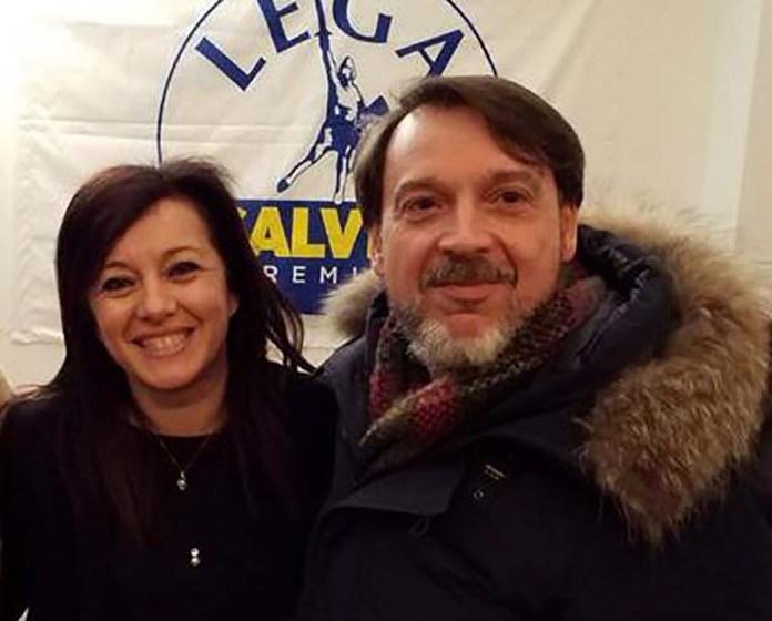 Simona Bordonali e Massimo Tacconi, Lega