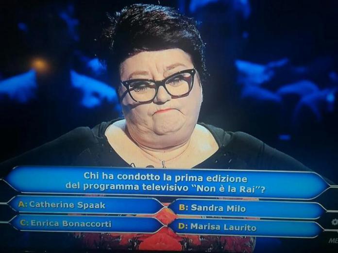 Tiziana Morari a Chi vuol essere milionario