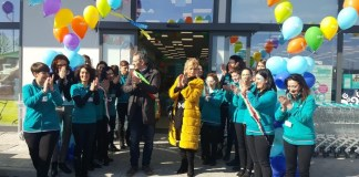 L'inaugurazione del nuovo punto vendita Tigotà di Castegnato