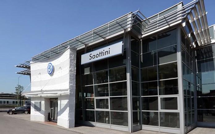 La concessionaria Saottini Volkswagen di Brescia
