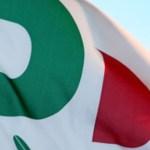 Bandiera del Pd, foto generica