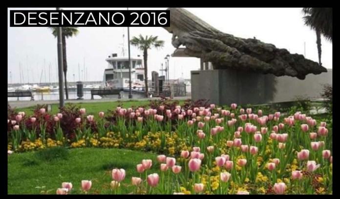Piazza Matteotti di Desenzano nel 2016