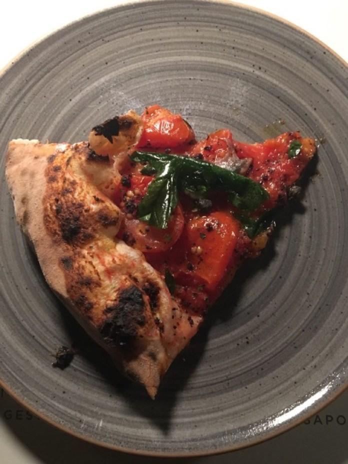 Una pizza de La Filiale di Erbusco, foto da ufficio stampa