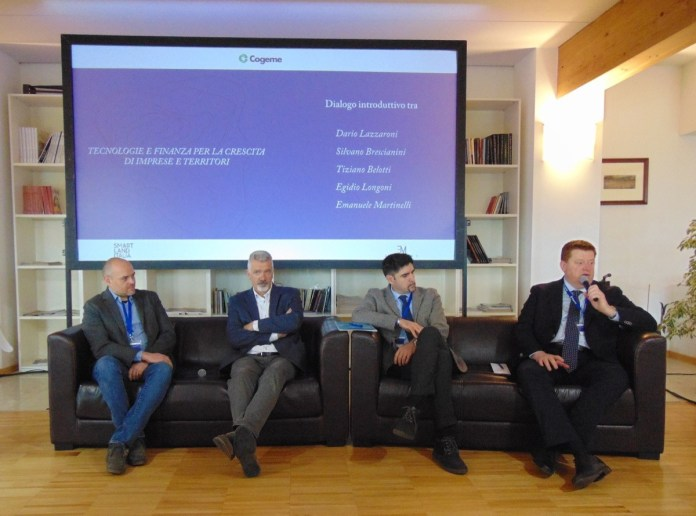 I relatori del convegno organizzato da Cogeme Nuove Energie