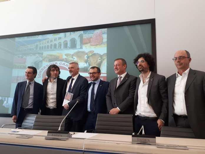 La conferenza stampa di presentazione di Lombardia Carne