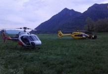 L'intervento del Cnsas in collaborazione con altri soccorritori - foto da ufficio stampa