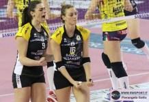 Francesca Villani e Tiziana Veglia (foto Pierangelo Gatto per RmSport)