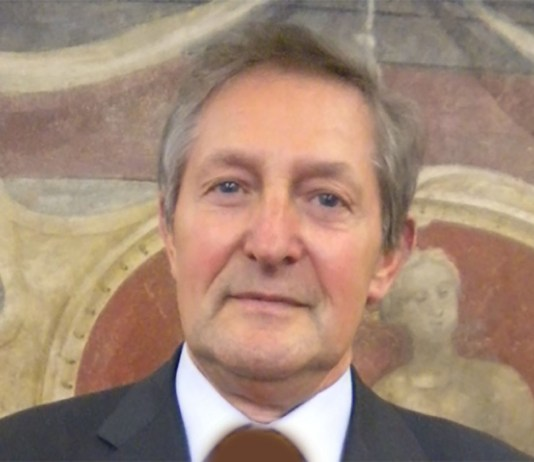 L'imprenditore Giuseppe Vezzoli di Palazzolo