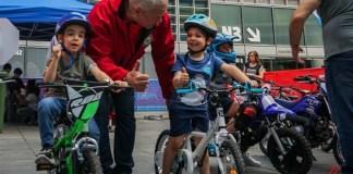 bambini su biciclette-Eicma for kids a Milano - foto da ufficio stampa