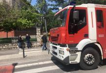 L'ingresso della scuola Pascoli di Brescia, foto BsNews
