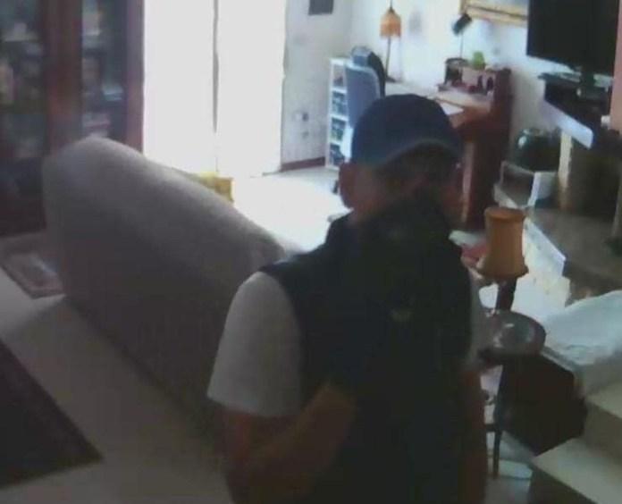 Il ladro nell'appartamento