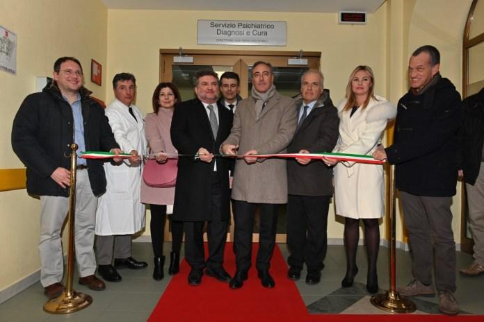 Inaugurazione Psichiatria all'Ospedale di Gavardo