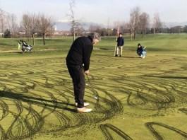 campo da golf rovinato