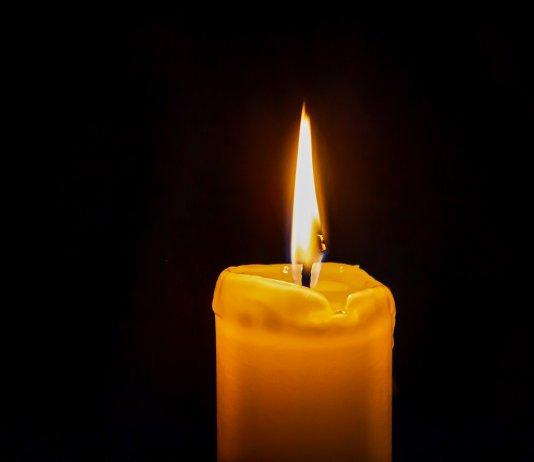 candela - lutto - morti