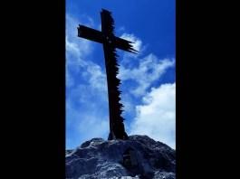 La croce in cima al Palone di Torsolazzo