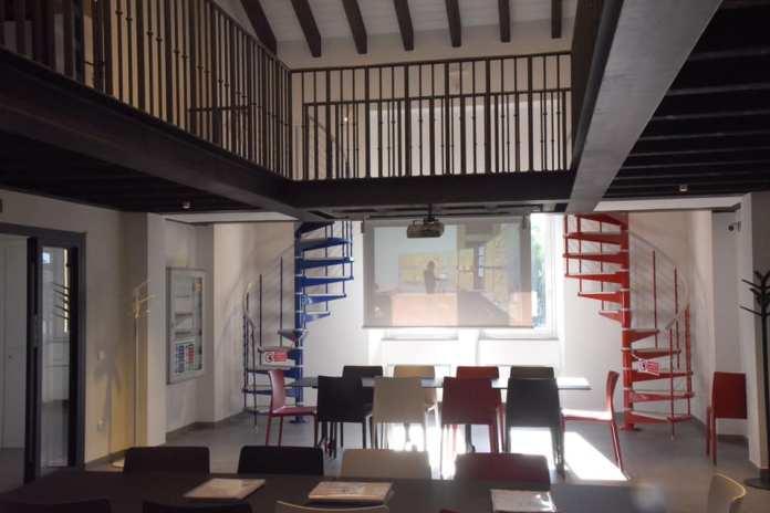 Sala di lettura a campo Marte - foto Comune di Brescia