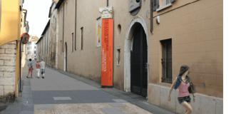 Simulazione della riqualificazione stradale di via Musei