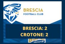 Brescia-Crotone 2-2