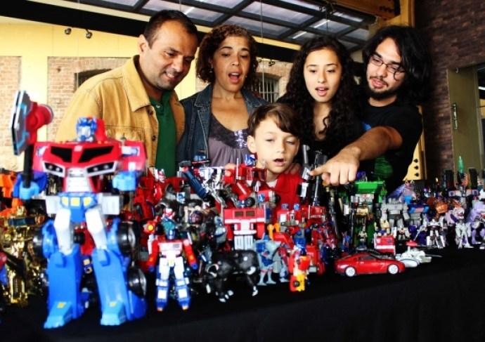 Más de 3.000 figuras de Transformers estarán en exhibición