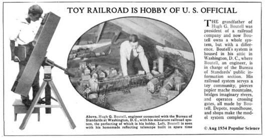 Hugh Boutell, (c) 1934 Popular Science